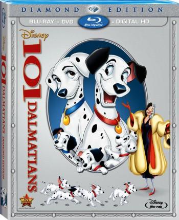 101 Dalmatians Blu-ray DVD Combo
