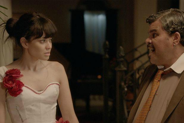 "Edy Ganem and Luis Guzman in ""Ana Maria in Novela Land"""