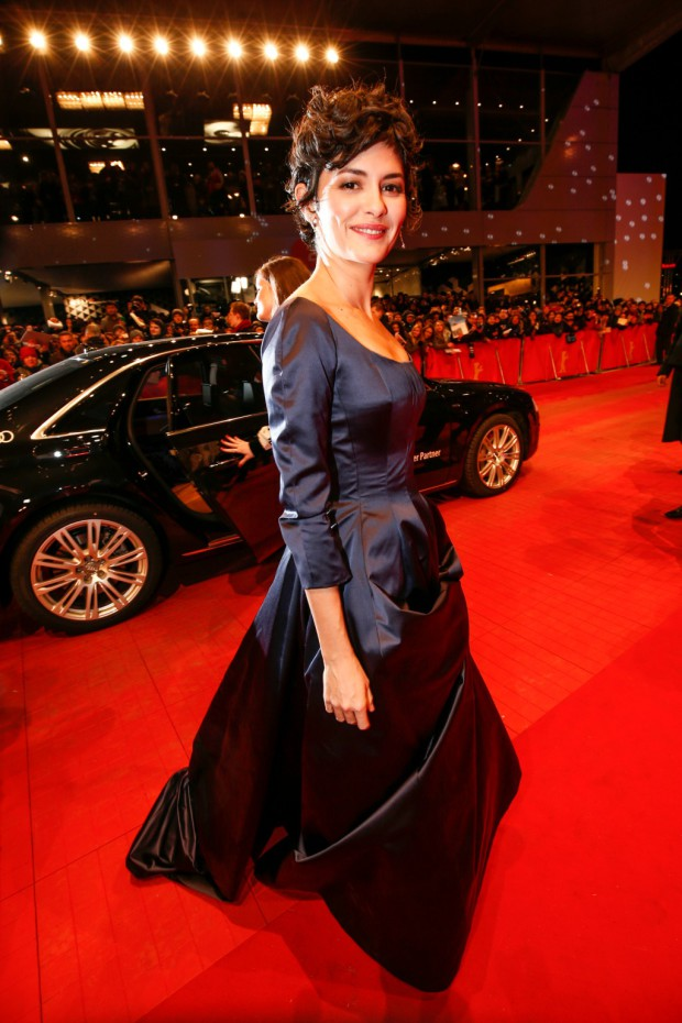 BERLIN, GERMANY - FEBRUARY 05: Audrey Tautou attends the 'Nobody Wants the Night' premiere during the 65th Berlinale International Film Festival on February 05, 2015 in Berlin, Germany. (Photo by Franziska Krug/Getty Images for AUDI AG via Image.net)