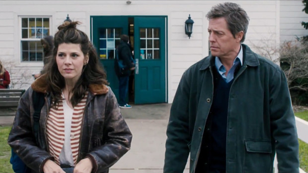 "Marisa Tomei and Hugh Grant in ""The Rewrite"""