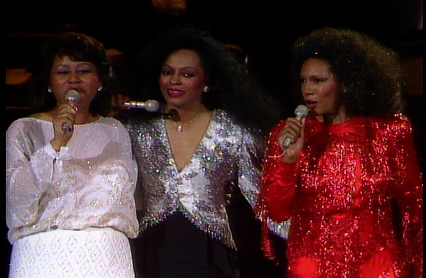"The Supremes in ""Motown 25"""