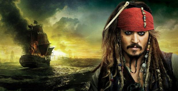 Jack Sparrow, a hírhedt kalóz beteg gyerekekhez látogatott el