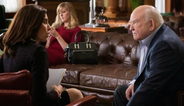 Alicia and Guy Redmayne (Ed Asner), The Good Wife