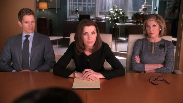 The Good Wife: Alicia, Cary, and Diane