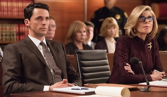 Finn and Diane - The Good Wife
