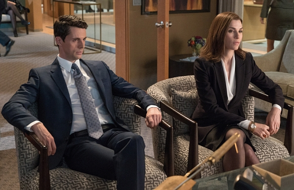 Alicia and Finn on The Good Wife