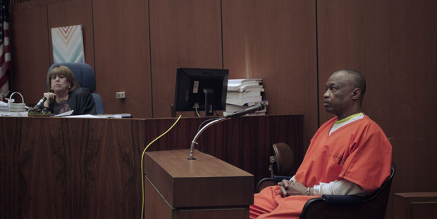 "Lonnie David Franklin, Jr. in court in ""Tales of the Grim Sleeper"""
