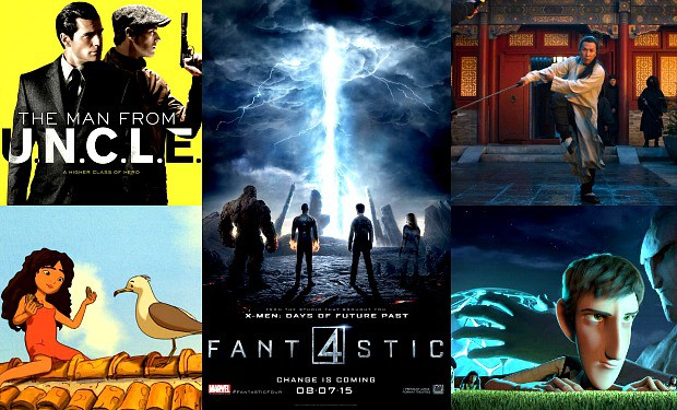 August 2015 Movies Collage