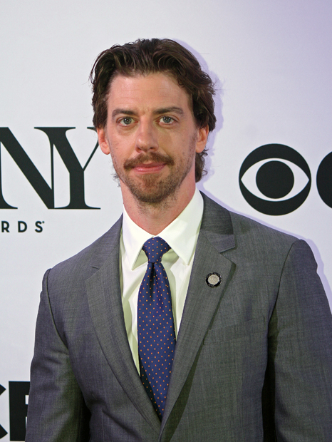 """Christian Borle of """"Smash"""" is nominated for his rock 'n roll portrayal of Shakespeare in """"Something Rotten!"""" 