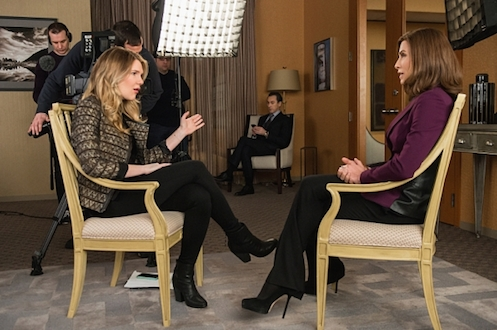Alicia interviews with Petra - The Good Wife