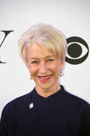 "Helen Mirren is nominated for her portrayal of Queen Elizabeth in ""The Audience"" 