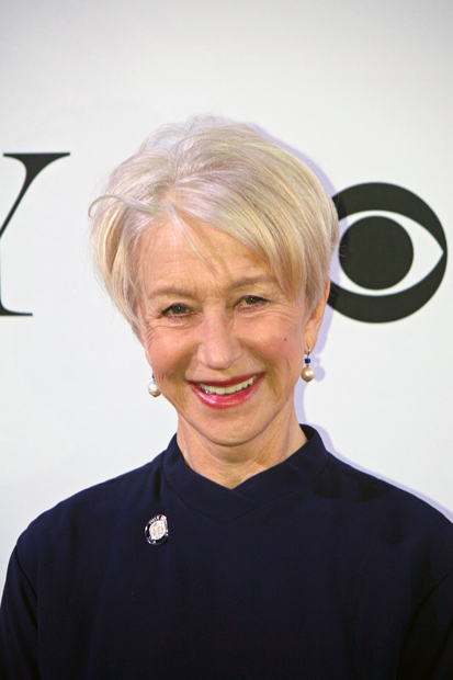 """Helen Mirren is nominated for her portrayal of Queen Elizabeth in """"The Audience"""" 