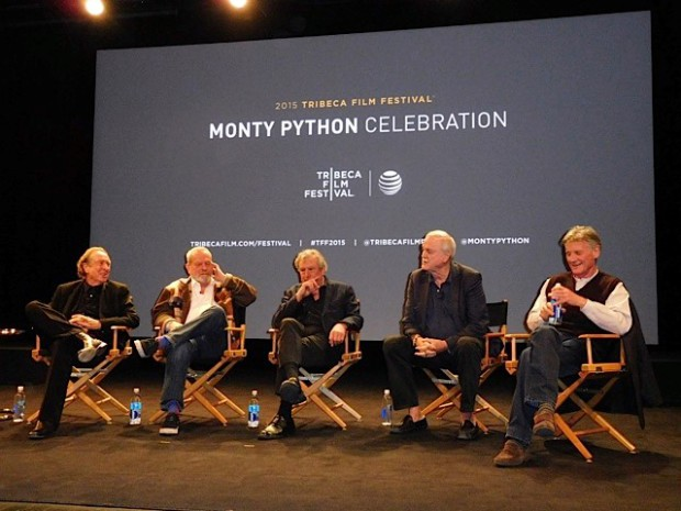 Tribeca Film Festival: The five remaining cast members of the Monty Python comedy troupe | Paula Schwartz Photo