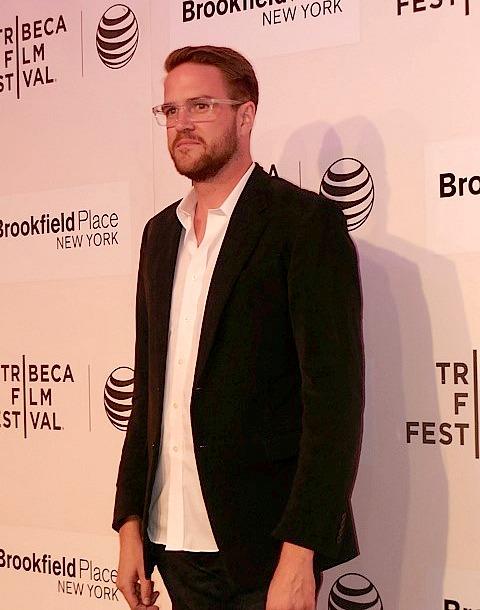 "Director Patrick Brice at Tribeca Film Festival screening of ""The Overnight"" | Paula Schwartz Photo"