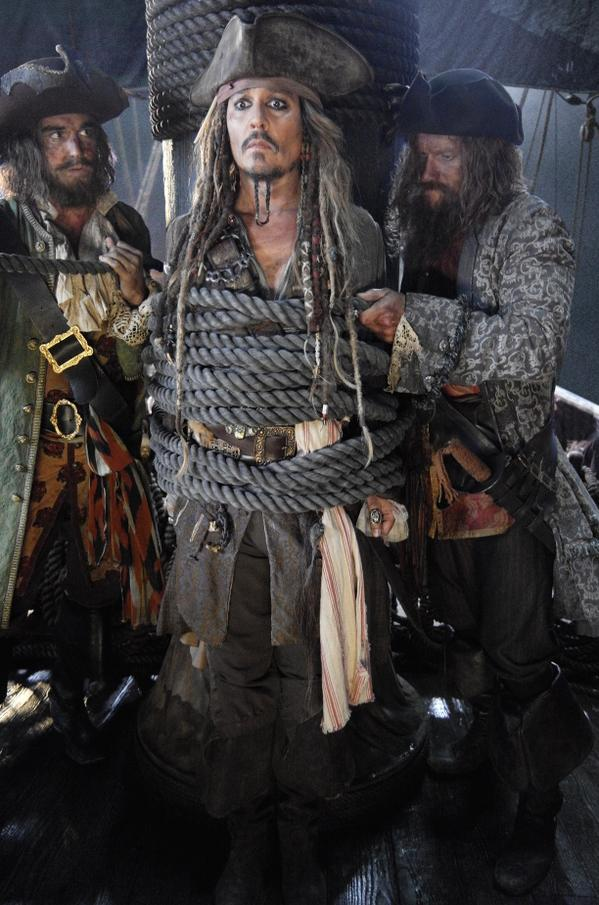 "Johnny Depp in ""Pirates of the Caribbean: Dead Men Tell No Tales"" 