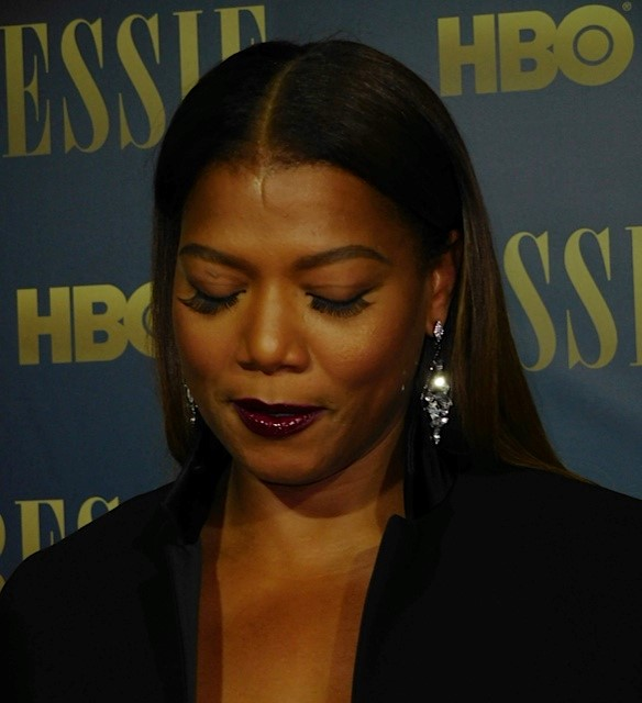 "Queen Latifah at the ""Bessie"" premiere 