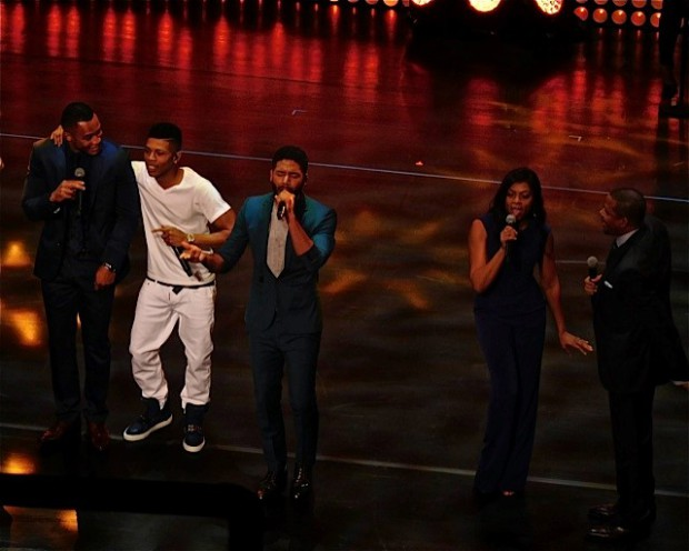 "Cast of ""Empire"" at the 2015 Fox Upfront 