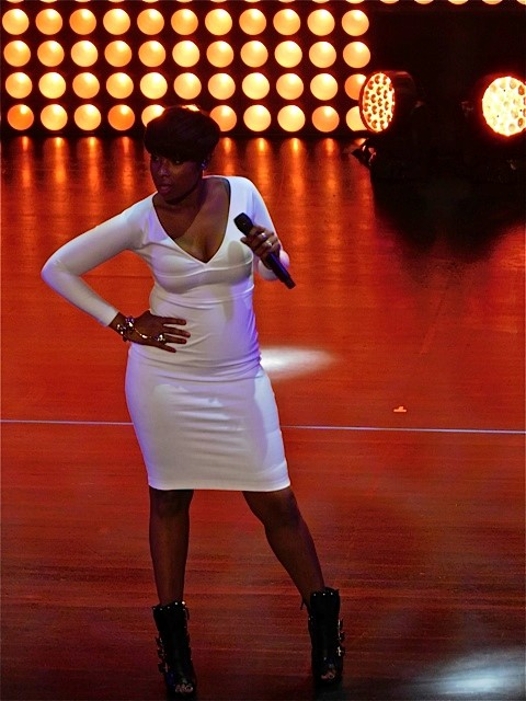 Jennifer Hudson at the 2015 Fox Upfront | Paula Schwartz Photo