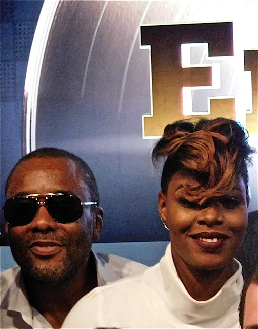 Lee Daniels and Ta'Rhonda Jones at the 2015 Fox Upfront | Paula Schwartz Photo