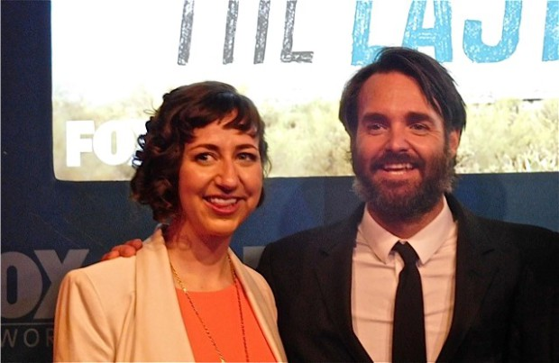 Kristen Schaal and Will Forte at the 2015 Fox Upfront | Paula Schwartz Photo