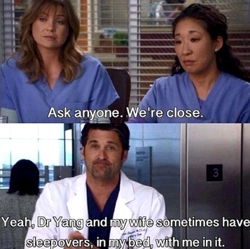 Greys Anatomy Sleepovers