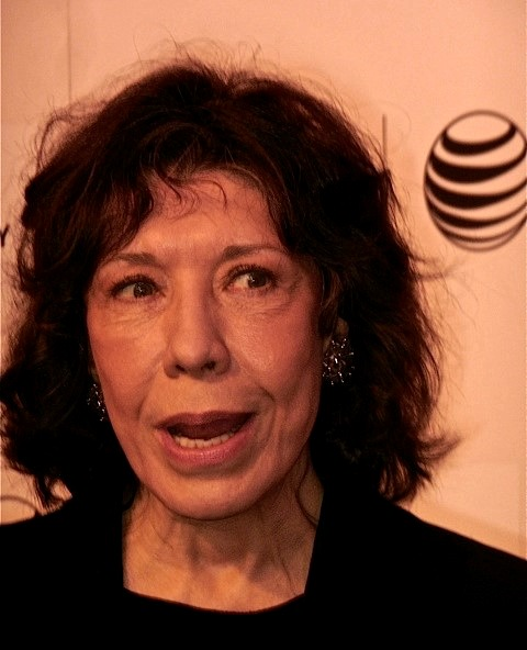 "Lily Tomlin at the Tribeca Film Festival screening of ""Grandma"" 
