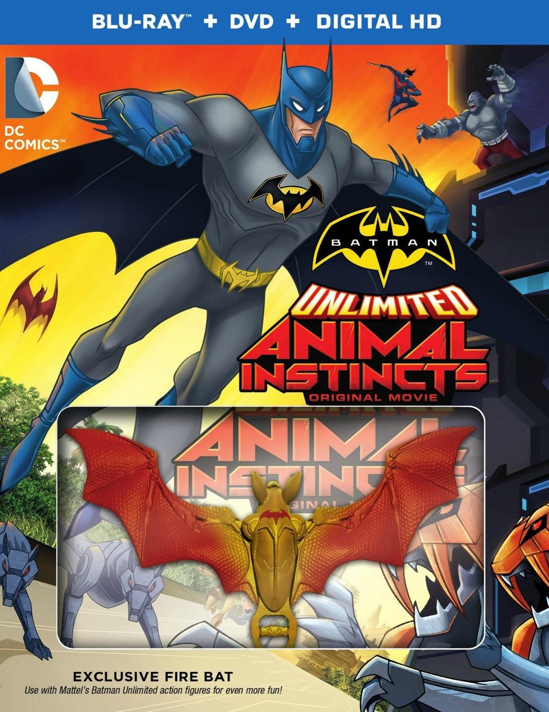 Batman Unlimited Animal Instincts Stream