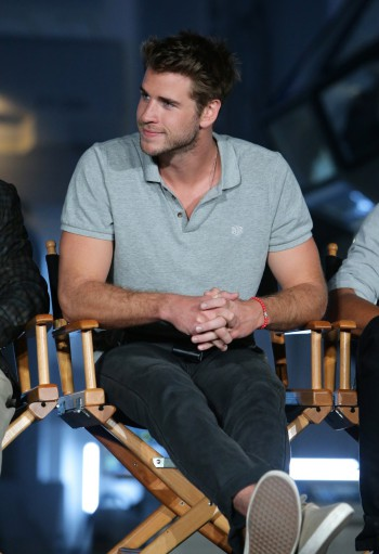 """EXCLUSIVE - Liam Hemsworth seen at the """"Independence Day Resurgence"""" Global Production Event on Monday, June 22, 2015, in Albuquerque, New Mexico. (Photo by Eric Charbonneau/Invision for Twentieth Century Fox/AP Images)"""
