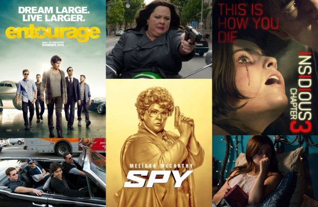 New Movies June 5 2015 Collage