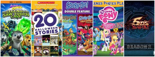 Sept 2015 DVDs