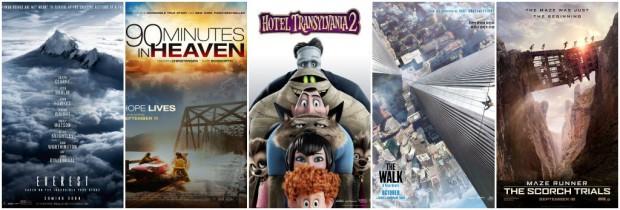 Sept 2015 Movies