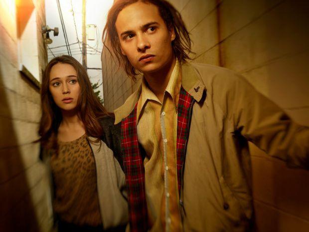 Alycia Debnam Carey as Alicia and Frank Dillane as Nick | Photo Credit: Frank Ockenfels 3/AMC