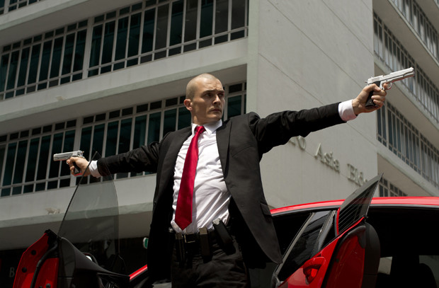 "Based on the top-selling, award-winning videogame franchise, ""Hitman: Agent 47"" is an all-new motion picture about an elite and genetically engineered assassin, known only by the last two digits – 47 – of a barcode tattooed on the back of his neck. Rupert Friend is seen here in the title role of Agent 47 