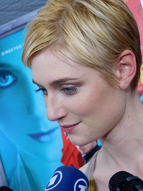 """Elizabeth Dibecki at the NY premiere of """"The Man from UNCLE"""" 