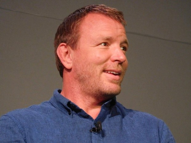 """Guy Ritchie at a Q&A for """"The Man from UNCLE"""" 