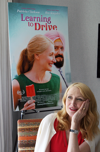"Patricia Clarkson waxes rhapsodic about ""The Elephant Man"" and ""Learning to Drive"" 