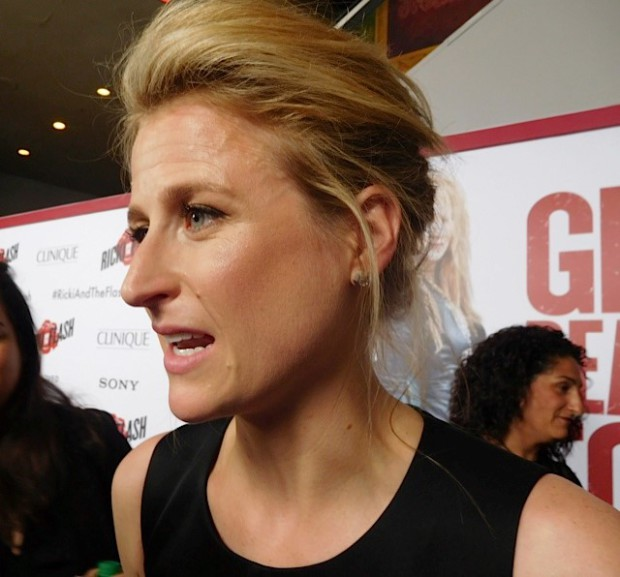 """Mamie Gummer attends the """"Ricki and the Flash"""" premiere in NYC 