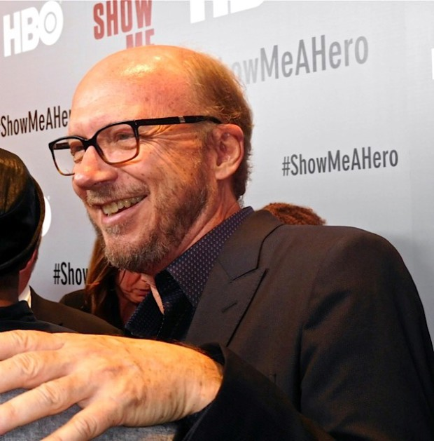 "Paul Haggis at the red carpet premiere of HBO's ""Show Me a Hero"" 