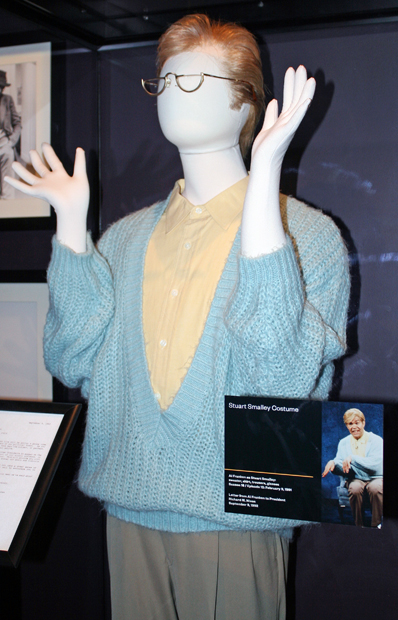 Al Franken's Stuart Smalley costume | Melanie Votaw Photo