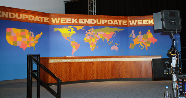 The Weekend Update Desk