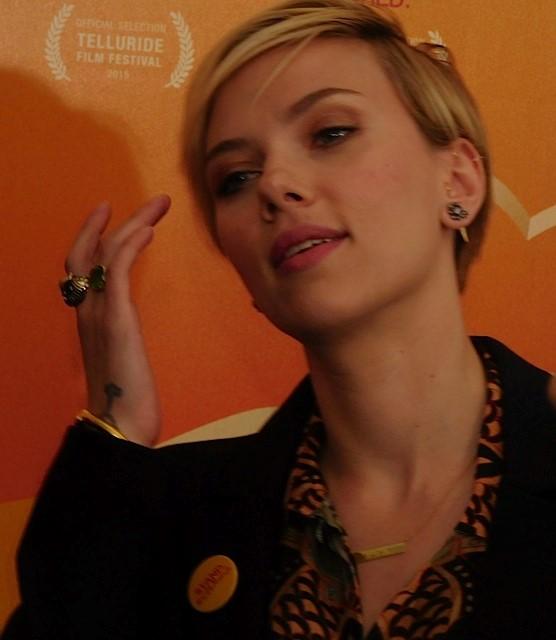 """Scarlett Johansson at the NY Premiere of """"He Named Me Malala""""   Paula Schwartz Photo"""