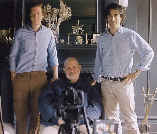 Jake Paltrow, Brian De Palma and Noah Baumbach
