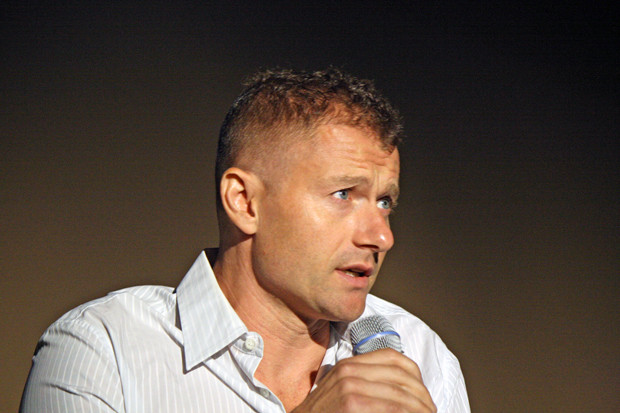 "James Badge Dale talks about ""The Walk"" at the New York Film Festival 