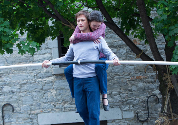 "Joseph Gordon-Levitt and Charlotte Le Bon in ""The Walk"""