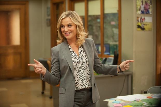 Poehler in her Television Series Parks and Recreation