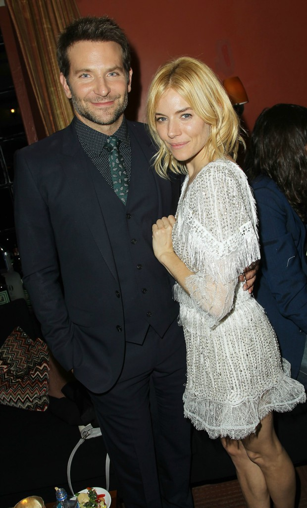 "Bradley Cooper and Sienna Miller at the ""Burnt"" premiere in NYC 