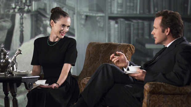 """Winona Ryder and Peter Sarsgaard in """"Experimenter"""""""