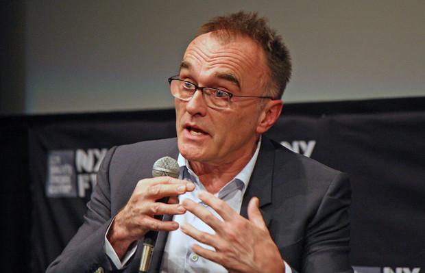 "Danny Boyle talks about ""Steve Jobs"" at the 2015 New York Film Festival | Melanie Votaw Photo"
