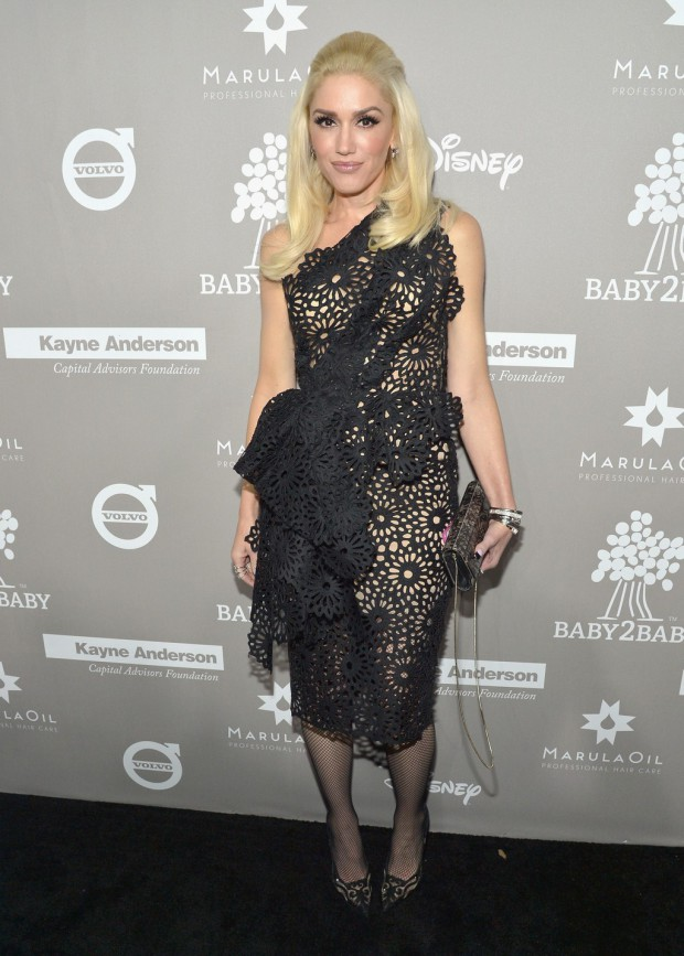 CULVER CITY, CA - NOVEMBER 14: Singer Gwen Stefani attends the 2015 Baby2Baby Gala presented by MarulaOil & Kayne Capital Advisors Foundation honoring Kerry Washington at 3LABS on November 14, 2015 in Culver City, California. (Photo by Charley Gallay/Getty Images for Baby2Baby)