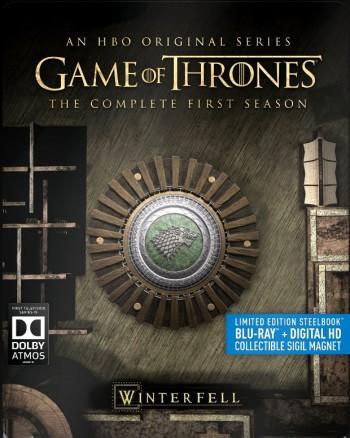 Game of Thrones S1 Steelbook